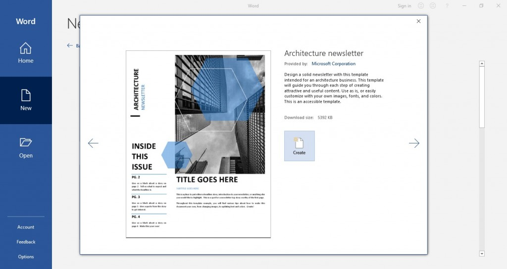 009 Unique M Word Newsletter Template Highest Quality  Free Microsoft Format ExampleLarge