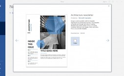 009 Unique M Word Newsletter Template Highest Quality  Free Microsoft Format Example