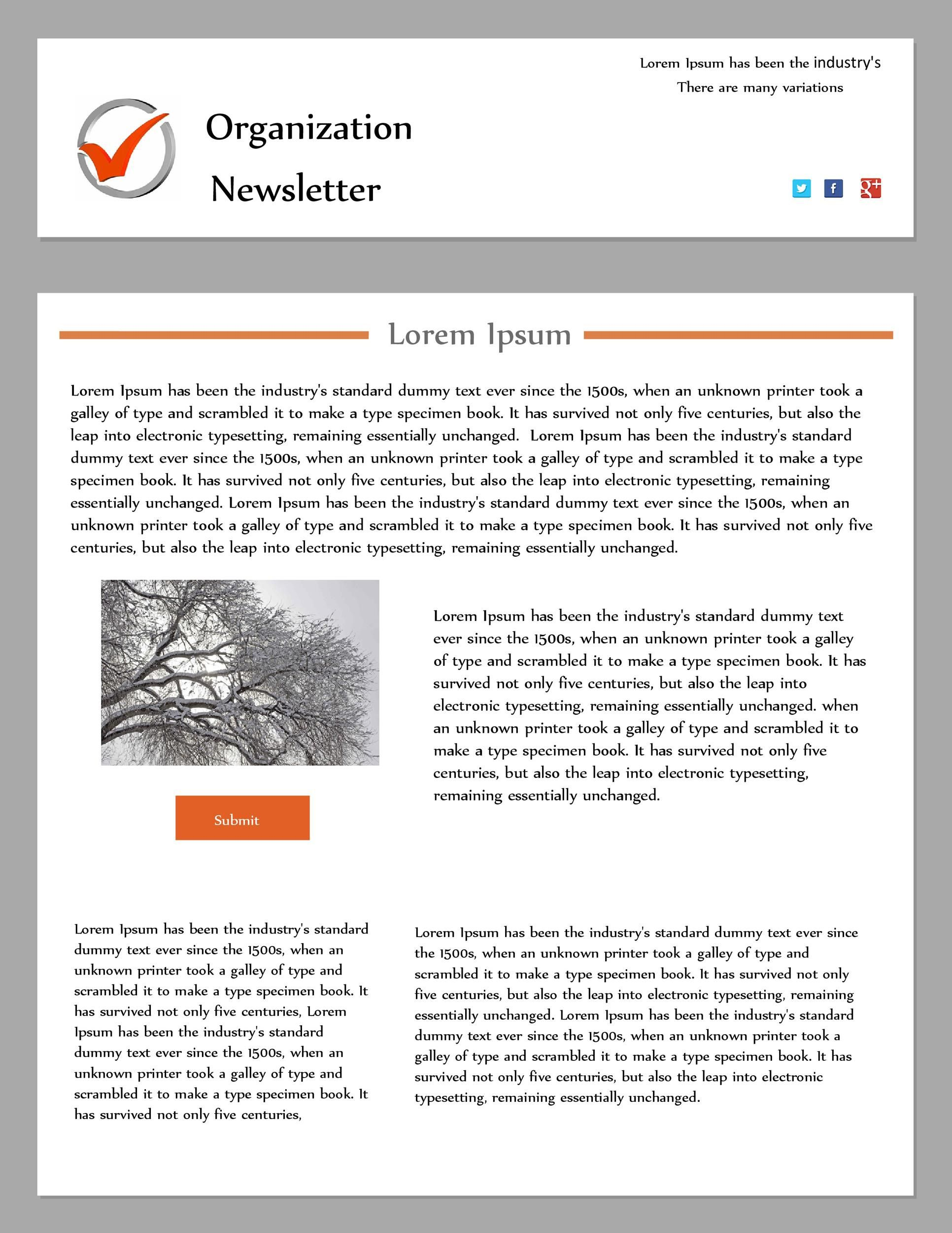 009 Unique Publisher Newsletter Template Free Image  M Download Microsoft