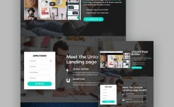 009 Unique Responsive Landing Page Template Design  Templates Html5 Free Download Wordpres Html