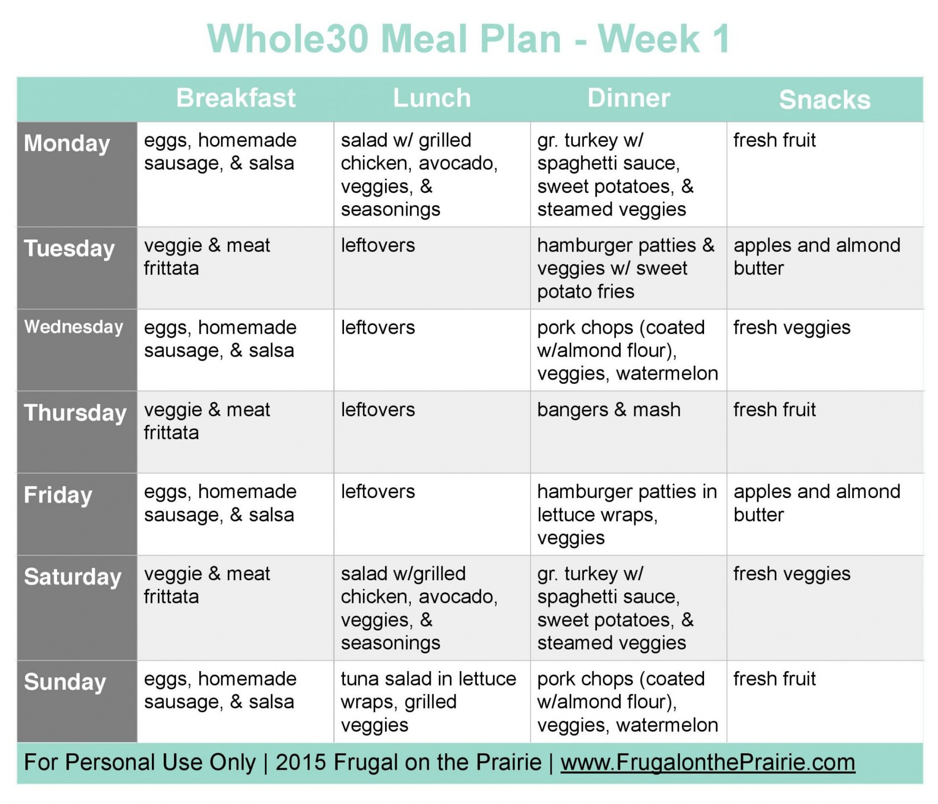 009 Unique Weekly Meal Plan Example Concept  Examples Keto One Week Template1920