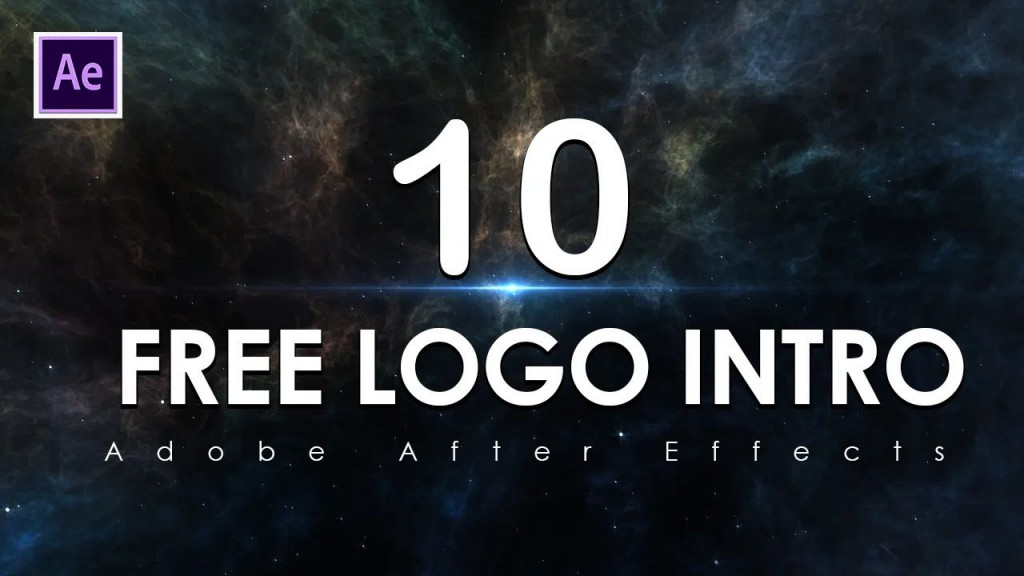 009 Unusual After Effect Logo Template High Resolution  Templates Intro Free Download Zip AdobeLarge