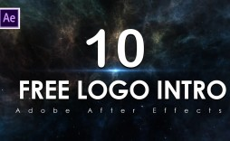 009 Unusual After Effect Logo Template High Resolution  Templates Intro Free Download Zip Adobe