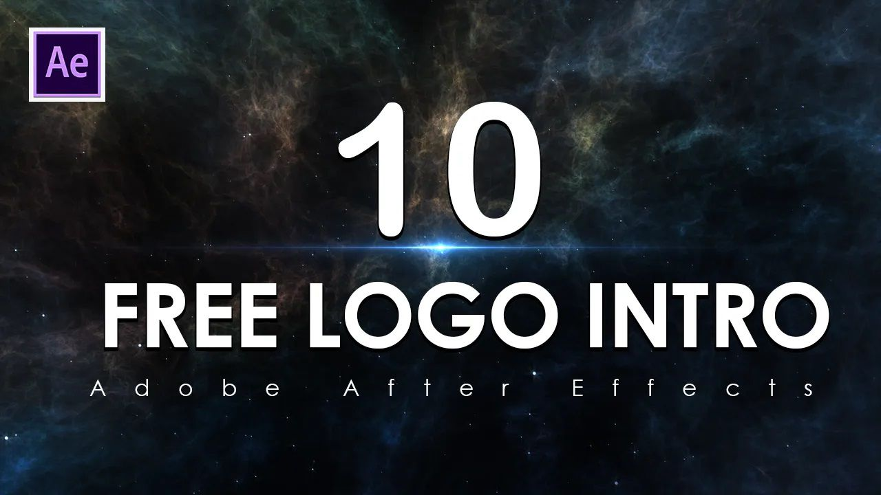 009 Unusual After Effect Logo Template High Resolution  Templates Intro Free Download Zip AdobeFull