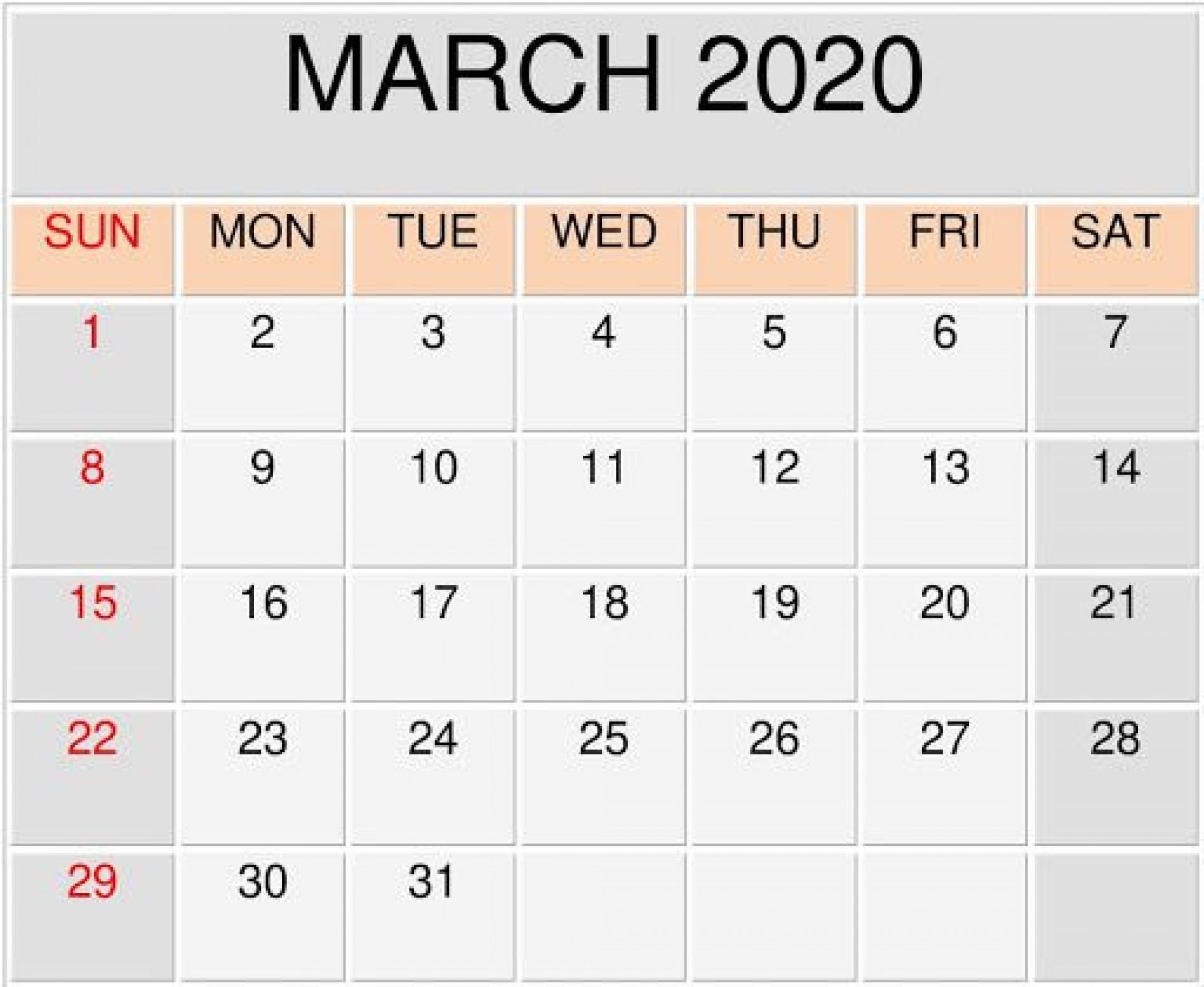 009 Unusual Blank Monthly Calendar Template Google Doc Sample  Docs1920