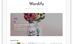 009 Unusual Blog Template For Word Design  Best Wordpres Free Theme 2019