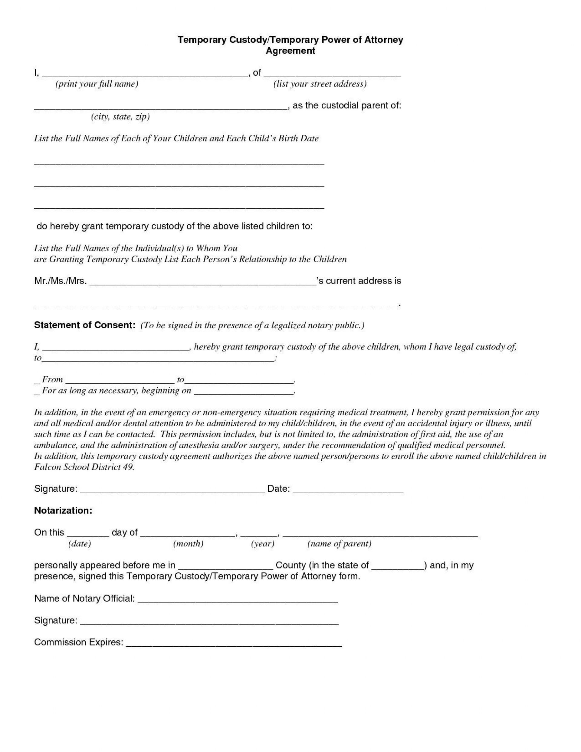 009 Unusual Child Custody Agreement Template Sample  Templates Pennsylvania Uk Free1920