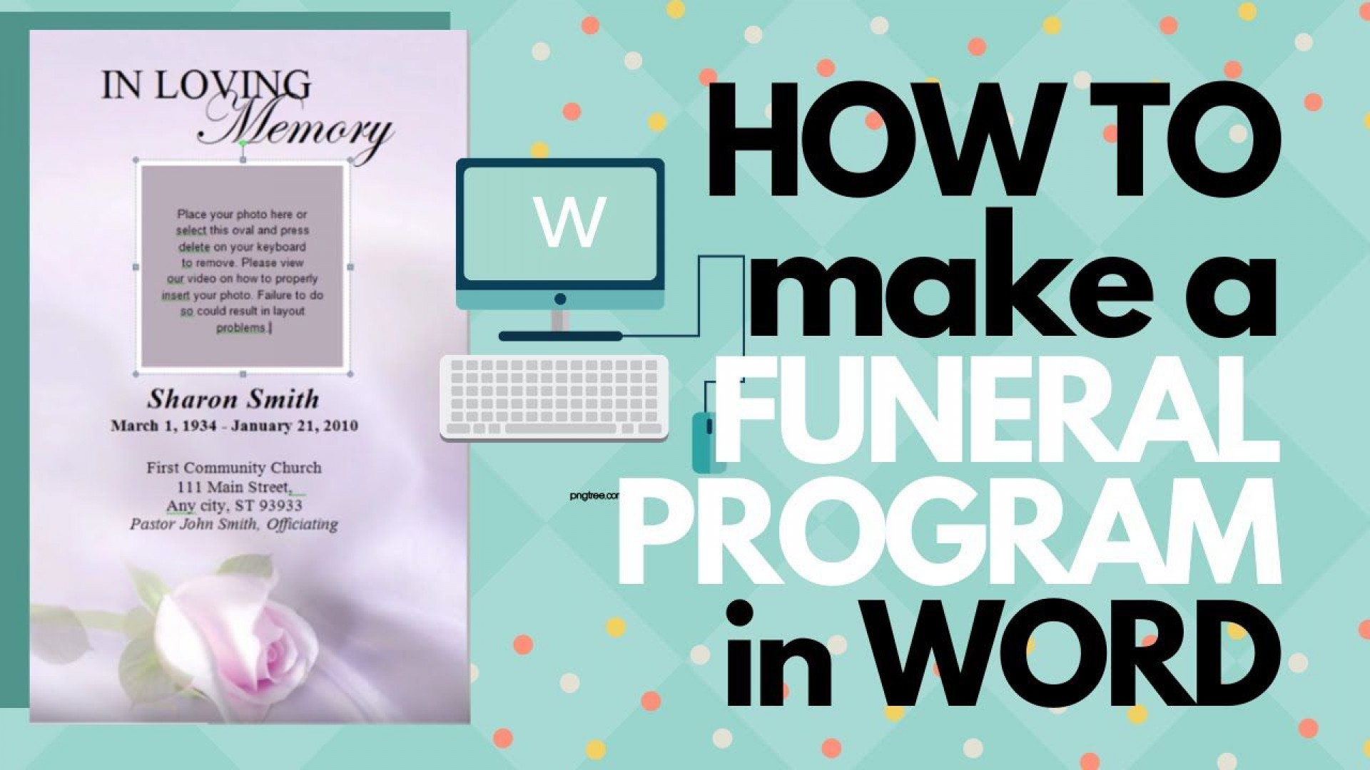 009 Unusual Free Funeral Program Template Example  Word Catholic Editable Pdf1920