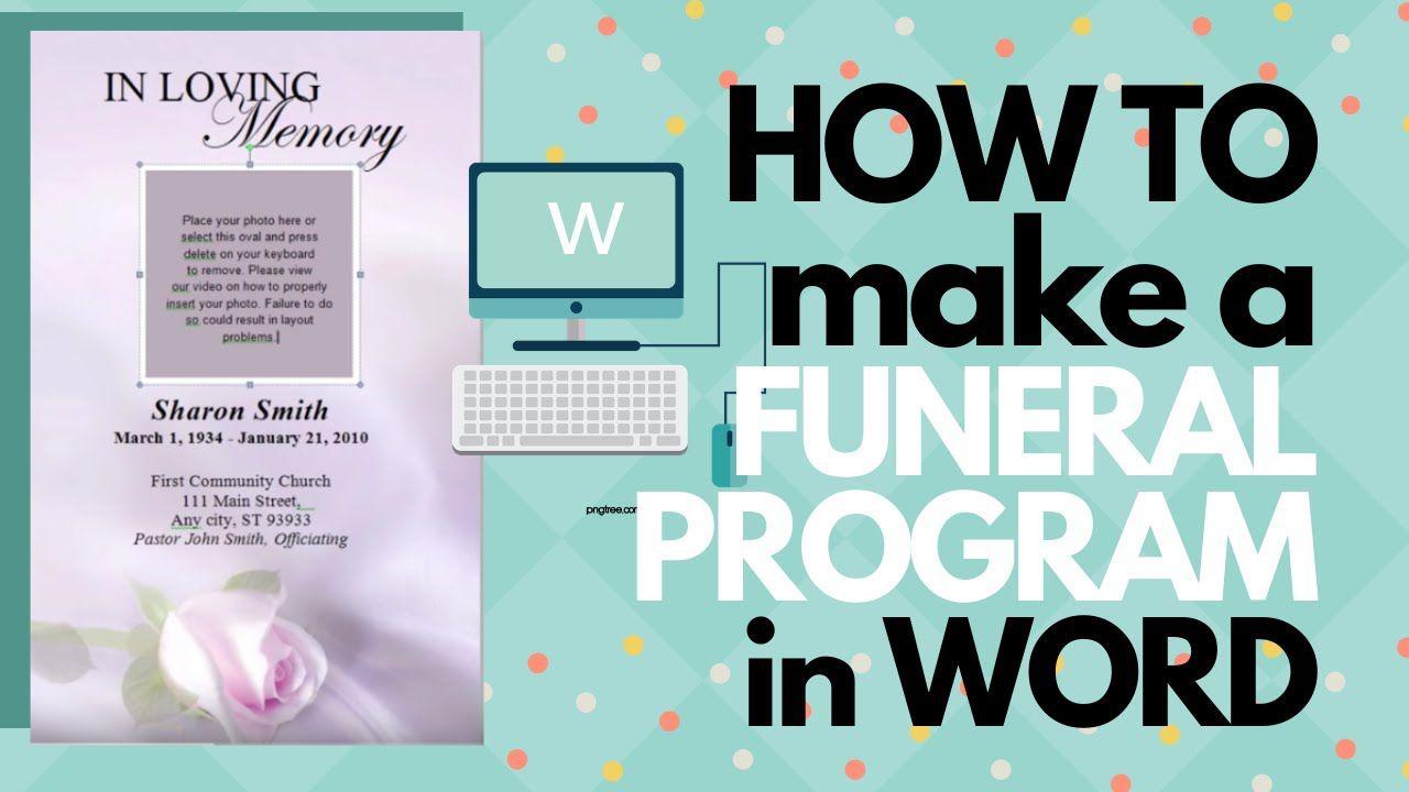 009 Unusual Free Funeral Program Template Example  Word Catholic Editable PdfFull