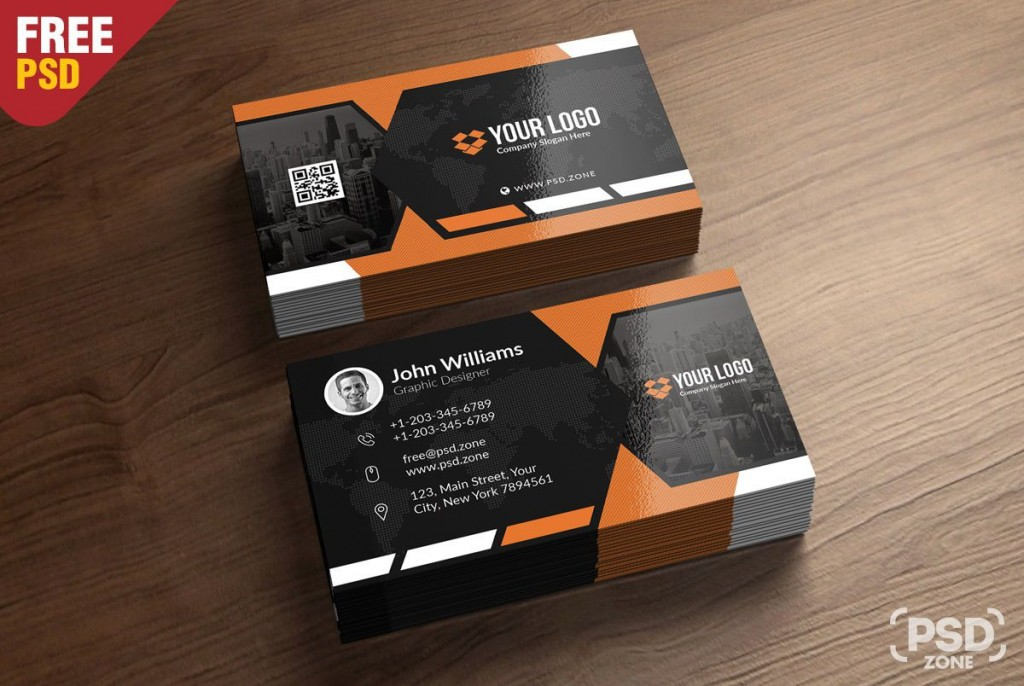 009 Unusual Free Photoshop Busines Card Template Inspiration  Blank Download Adobe Psd MockupLarge
