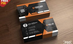 009 Unusual Free Photoshop Busines Card Template Inspiration  Blank Download Adobe Psd Mockup