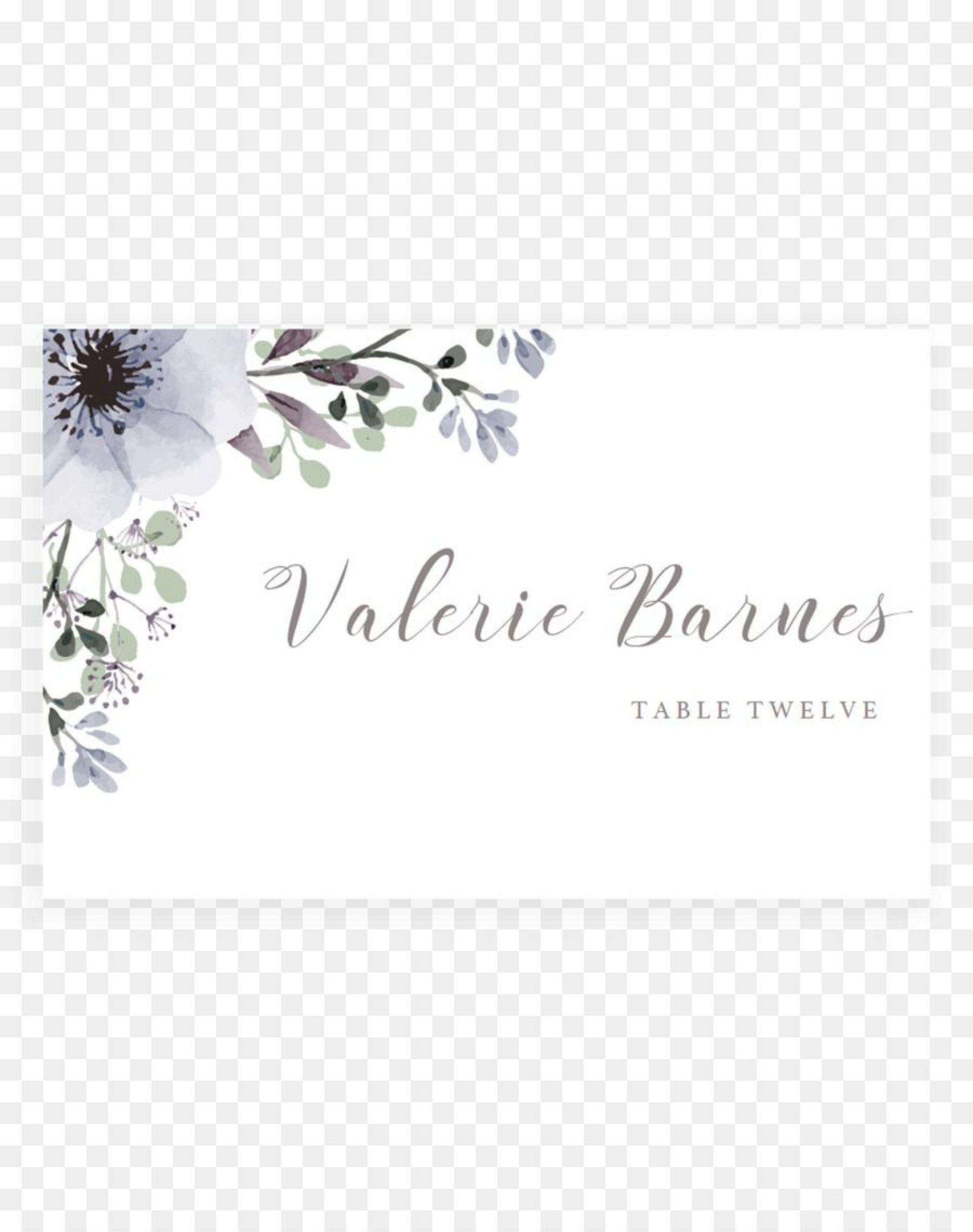 009 Unusual Free Place Card Template High Resolution  Wedding Download Christma Name Word1920