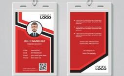 009 Unusual Id Card Template Free Image  Download Pdf Design