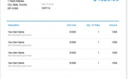 009 Unusual Invoice Template Free Download Image  Apple Pdf