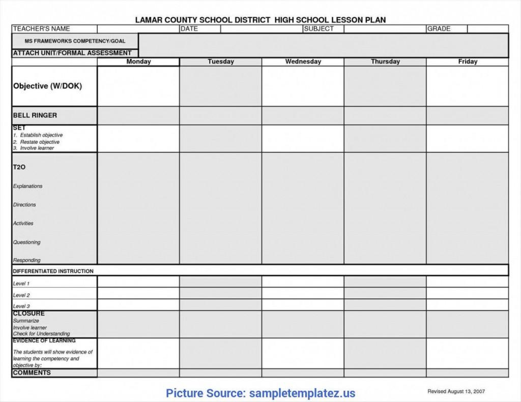 009 Unusual Lesson Plan Book Template High Resolution  Pdf Free TeacherLarge