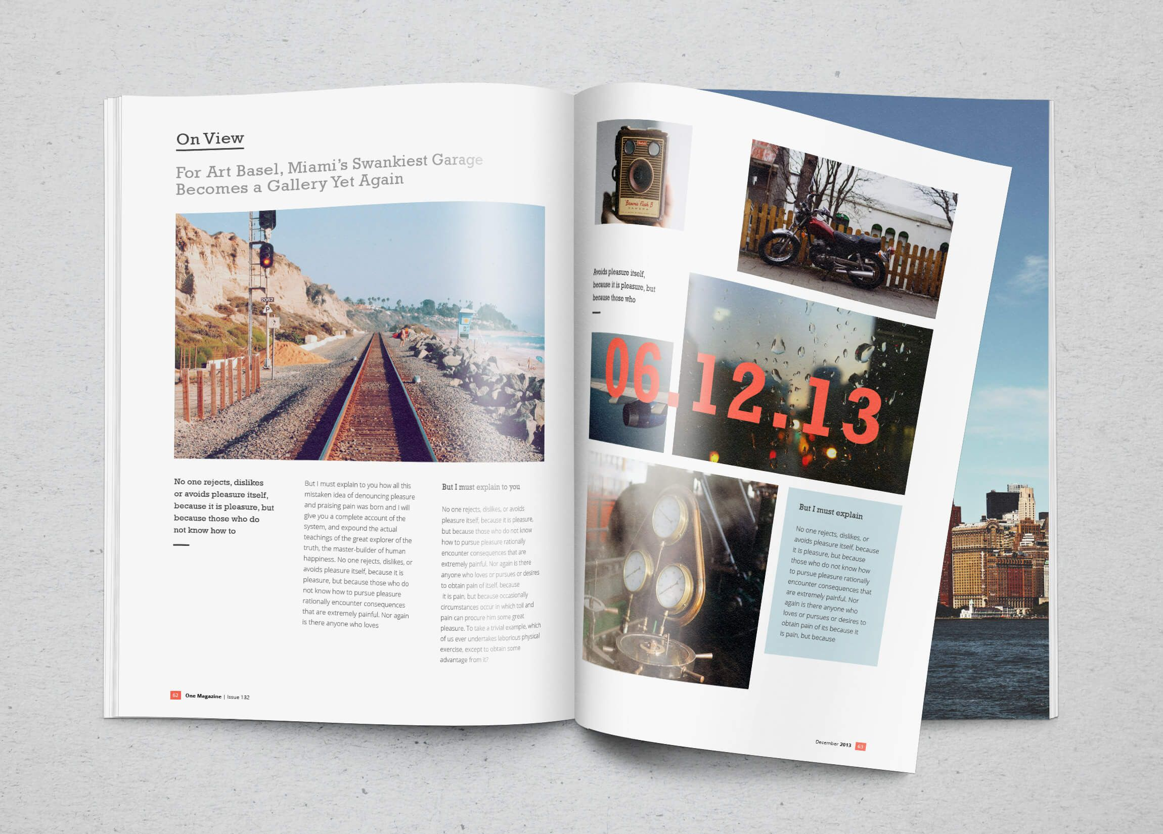 009 Unusual Photoshop Magazine Layout Template Free Download Highest Quality Full