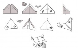 009 Unusual Printable Paper Airplane Folding Instruction High Resolution  Instructions