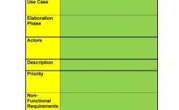 009 Unusual Use Case Template Word Highest Clarity  Specification Description Test Document
