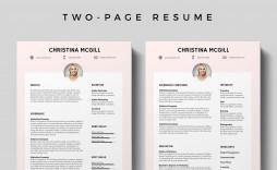 009 Wonderful Adobe Photoshop Resume Template Free Download High Resolution