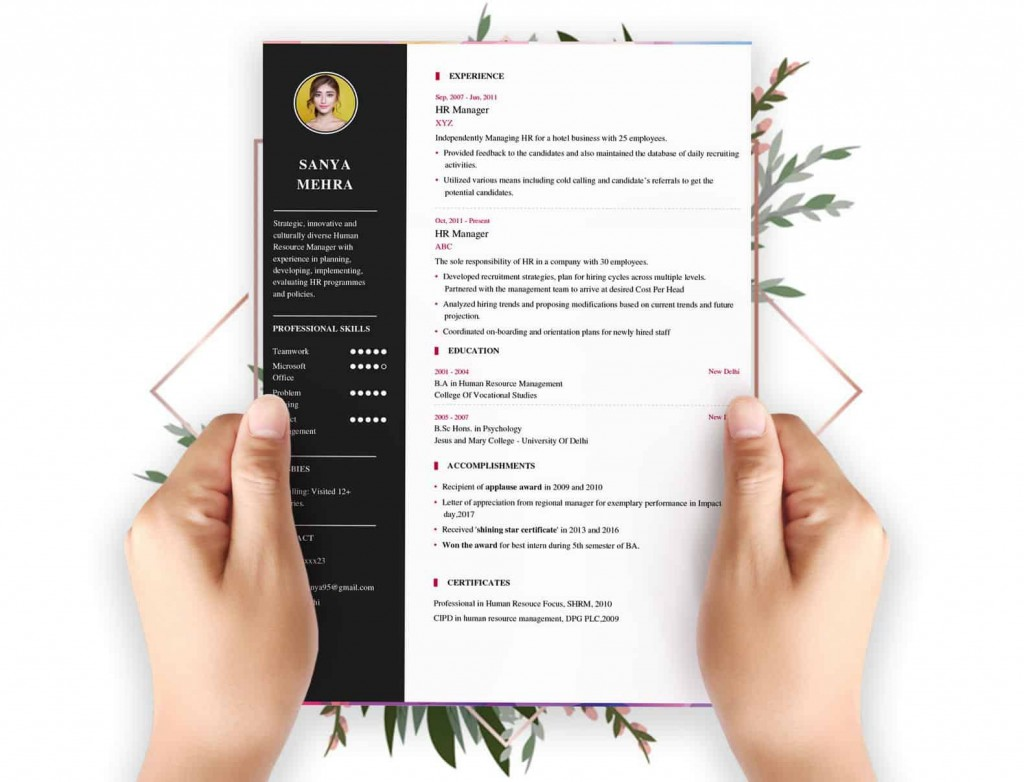 009 Wonderful Create A Resume Template Free High Resolution  Your Own WritingLarge