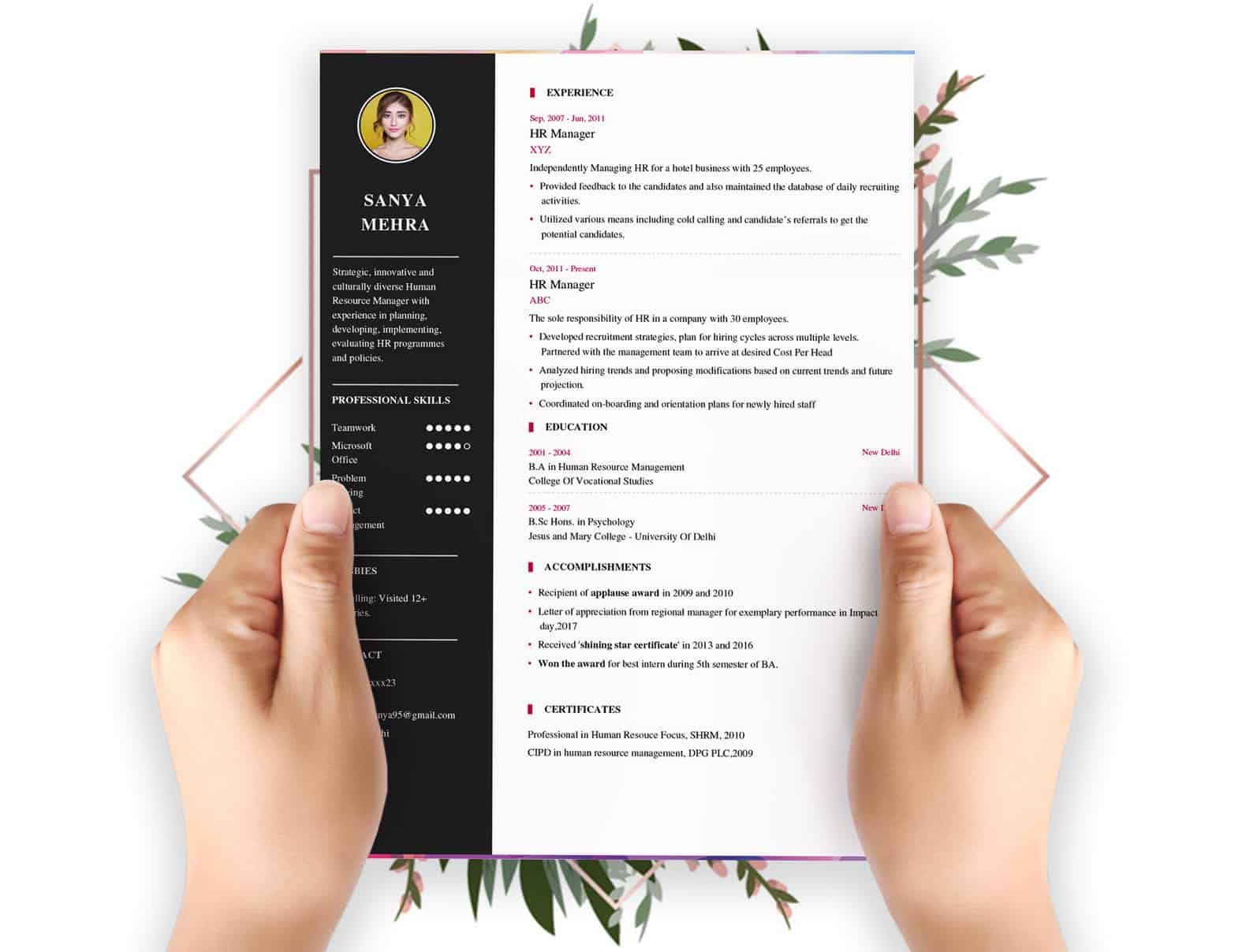 009 Wonderful Create A Resume Template Free High Resolution  Your Own WritingFull