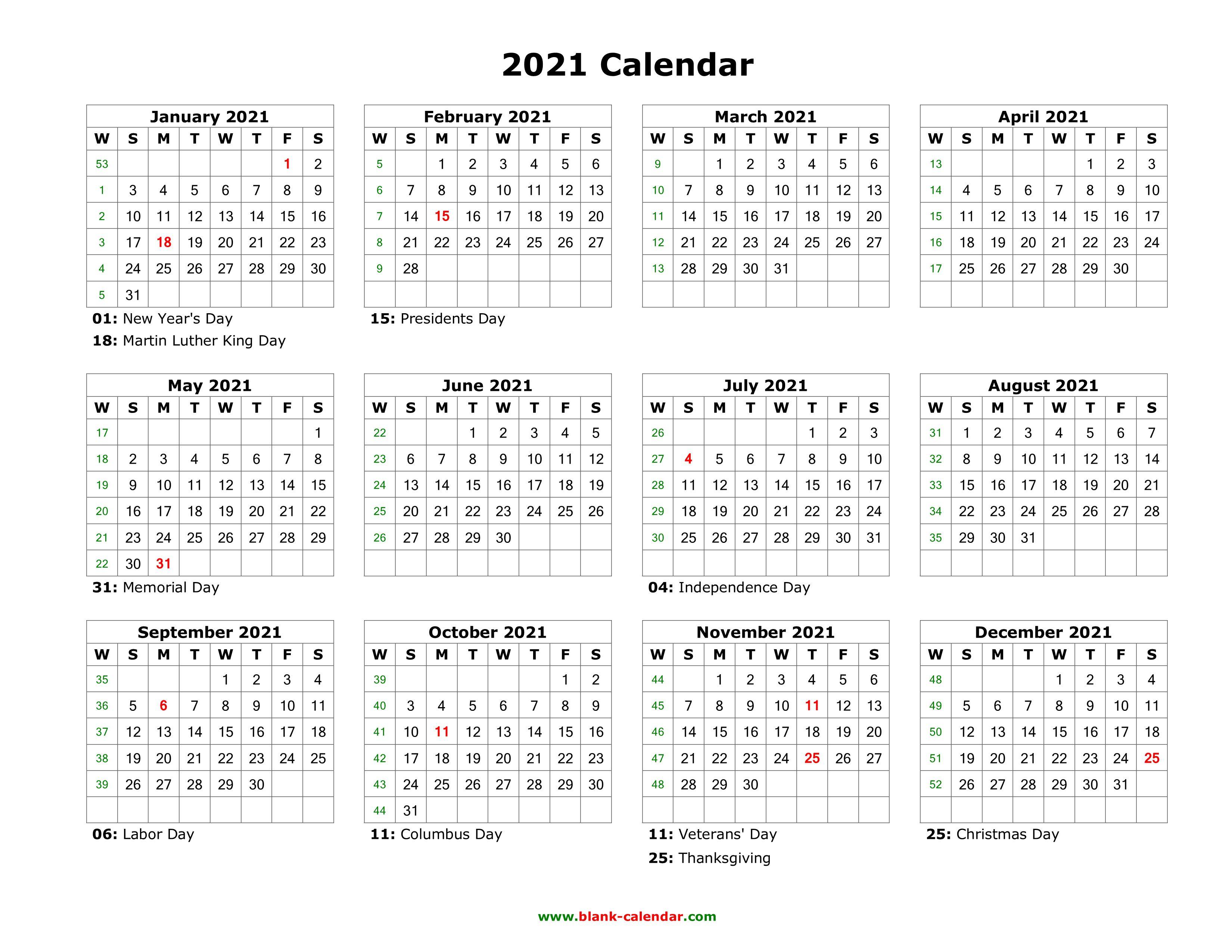009 Wonderful Editable Calendar Google Doc 2021 Idea Full