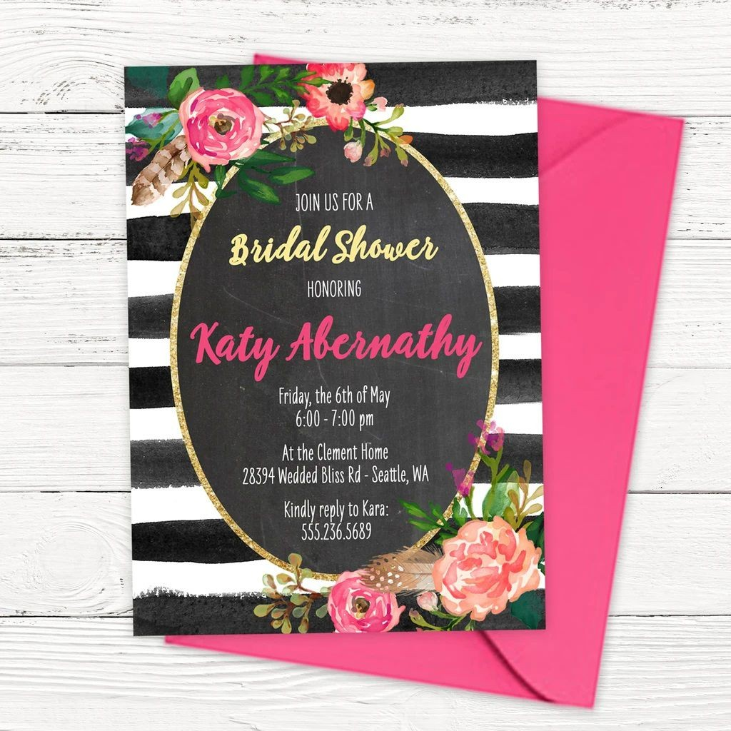 009 Wonderful Free Bridal Shower Invite Template Picture  Templates Invitation To Print Online Wedding For Microsoft WordLarge