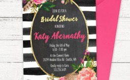 009 Wonderful Free Bridal Shower Invite Template Picture  Templates Invitation To Print Online Wedding For Microsoft Word