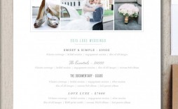 009 Wonderful Free Photography Package Template Highest Clarity  Pricing