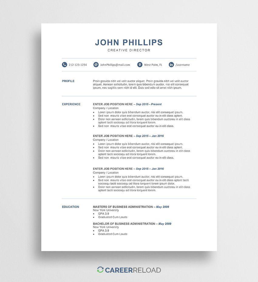 009 Wonderful Free Resume Template 2015 High Def Full