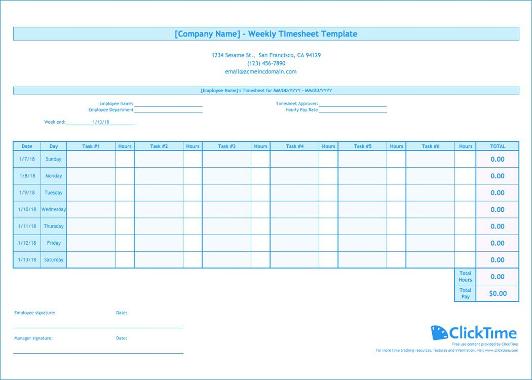 009 Wonderful Free Weekly Timesheet Template Image  For Multiple Employee Biweekly Excel With FormulaFull