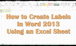 009 Wonderful Label Template In Word 2013 Inspiration  Cd How To Create A