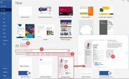 009 Wonderful M Word 2007 Brochure Template Idea  Templates Microsoft Office Download For Free