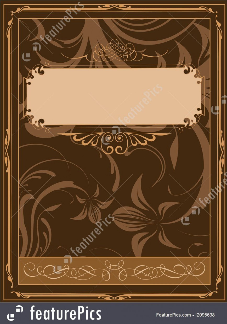 009 Wonderful Old Book Cover Template Design  Free Word Fashioned