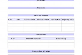 009 Wonderful Simple Project Scope Template Highest Clarity  Statement Example Pdf Document