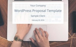 009 Wonderful Web Design Proposal Template Free Download Highest Quality