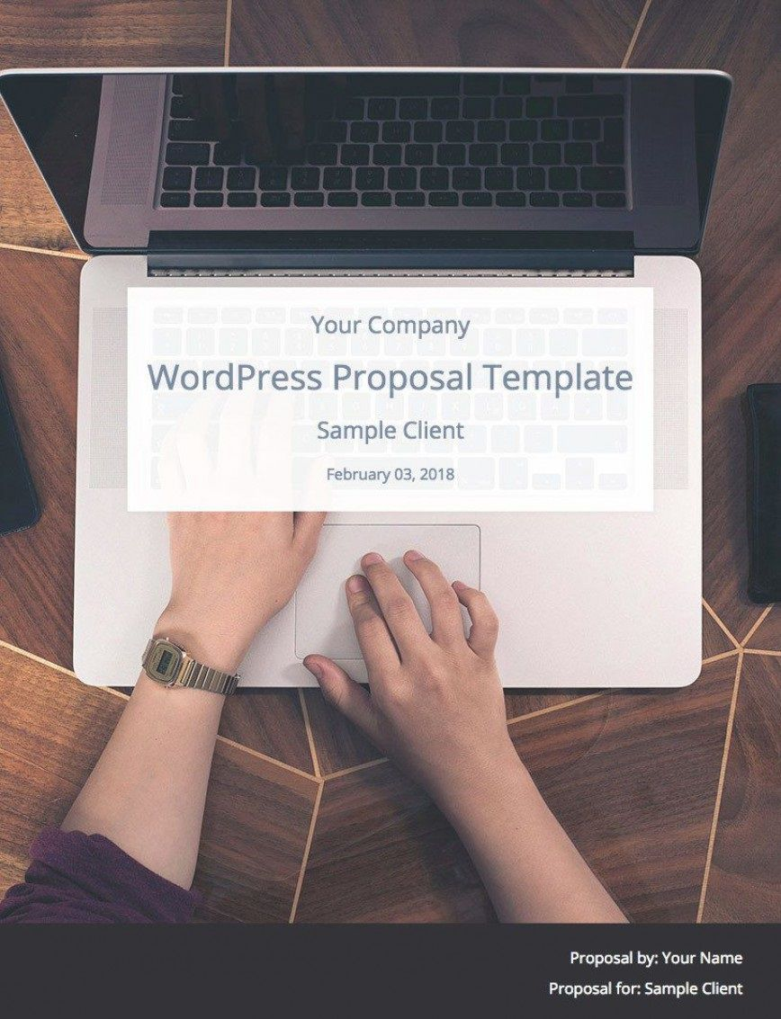 009 Wonderful Web Design Proposal Template Free Download Highest Quality Full