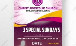 009 Wondrou Church Flyer Template Photoshop Free Picture  Psd