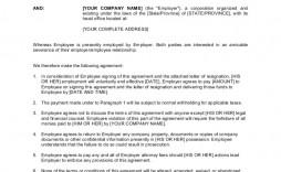 009 Wondrou Employment Separation Agreement Template Highest Clarity  Nc Shrm Employee Florida