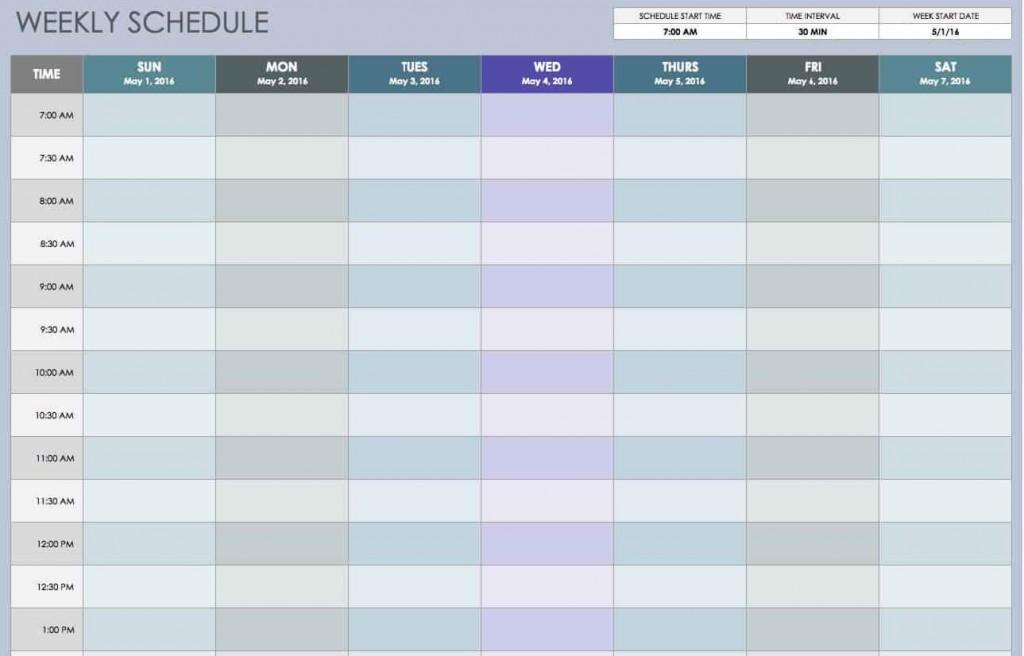 009 Wondrou Excel Work Planner Template Idea  Microsoft Monthly Schedule Plan SchedulingLarge