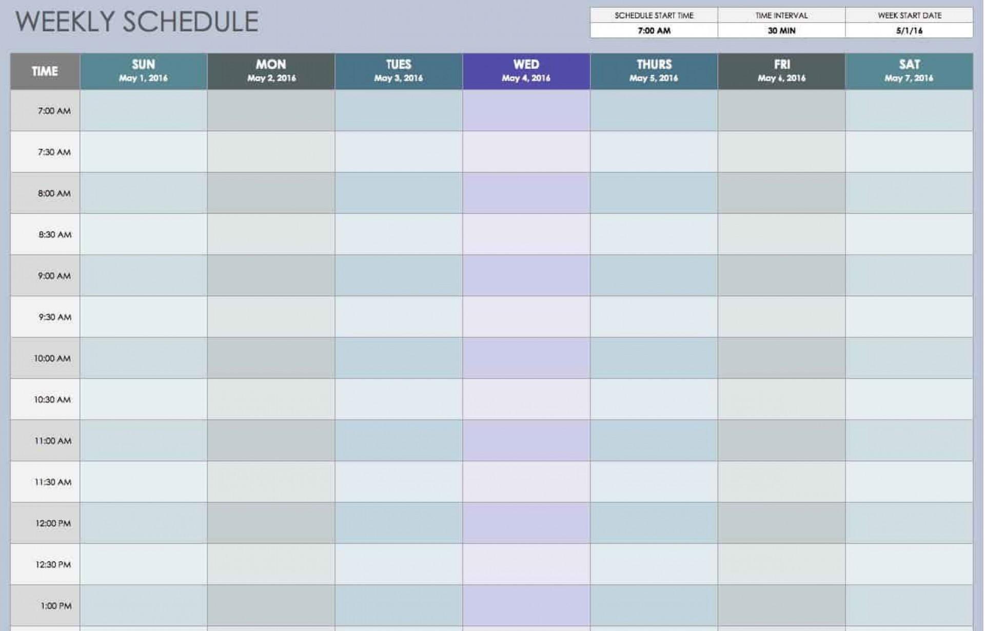 009 Wondrou Excel Work Planner Template Idea  Microsoft Monthly Schedule Plan Scheduling1920