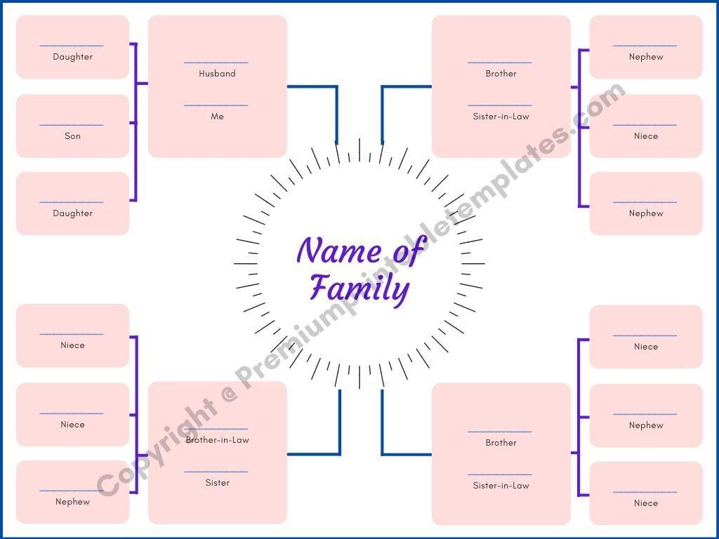 009 Wondrou Family Tree Template Word High Resolution  Free 2010 Doc DownloadLarge