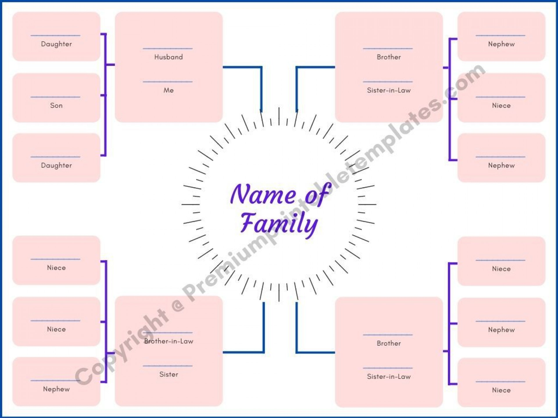 009 Wondrou Family Tree Template Word High Resolution  Free 2010 Doc Download1920