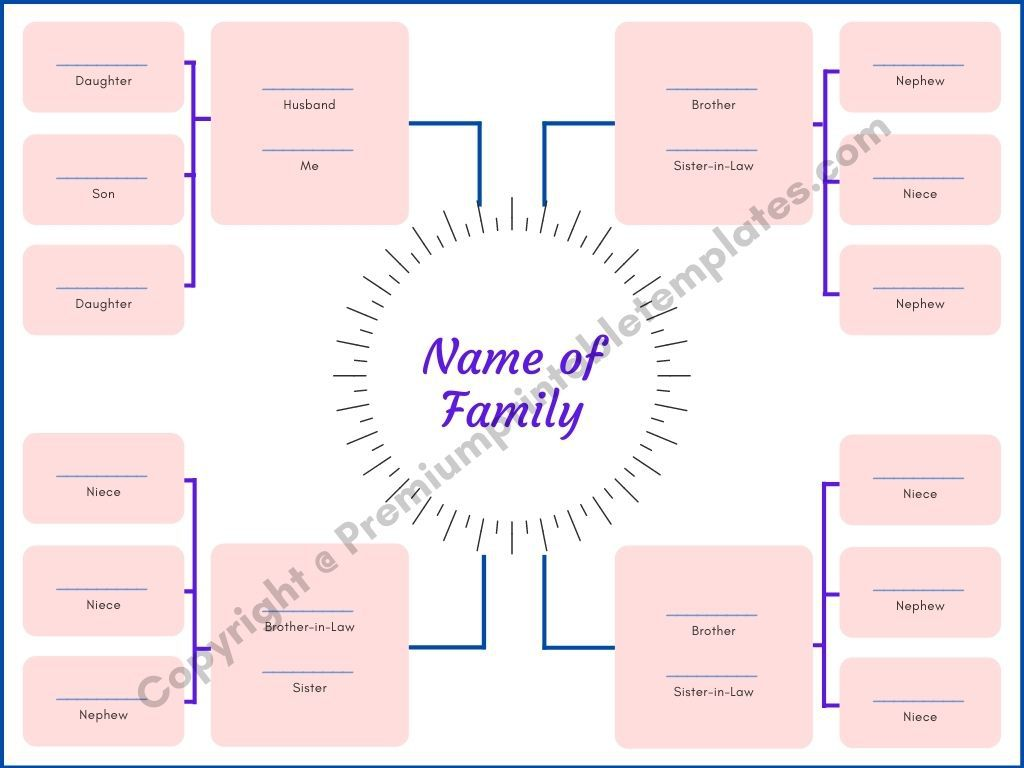 009 Wondrou Family Tree Template Word High Resolution  Free 2010 Doc DownloadFull