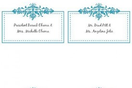 009 Wondrou Name Place Card Template Picture  Free Word Publisher Wedding