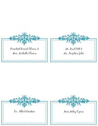 009 Wondrou Name Place Card Template Picture  Free Word Publisher Wedding320