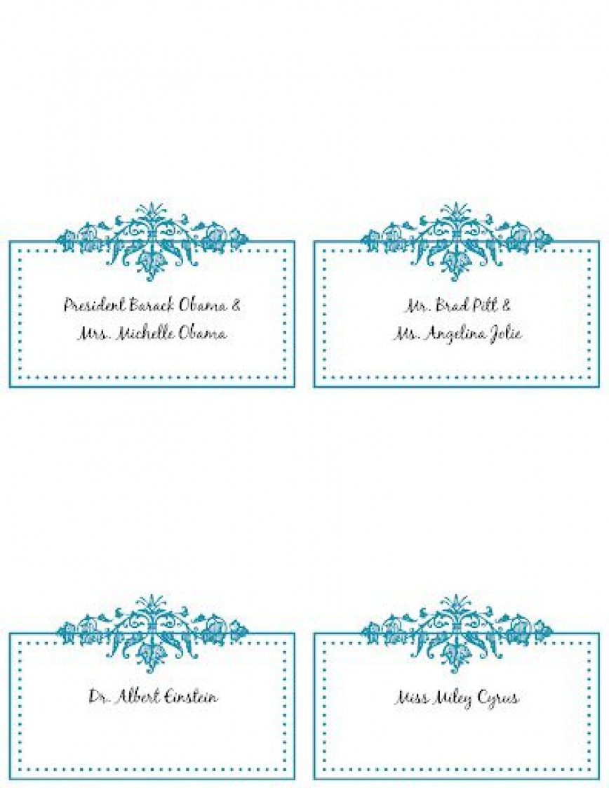009 Wondrou Name Place Card Template Picture  Free Word Publisher Wedding868