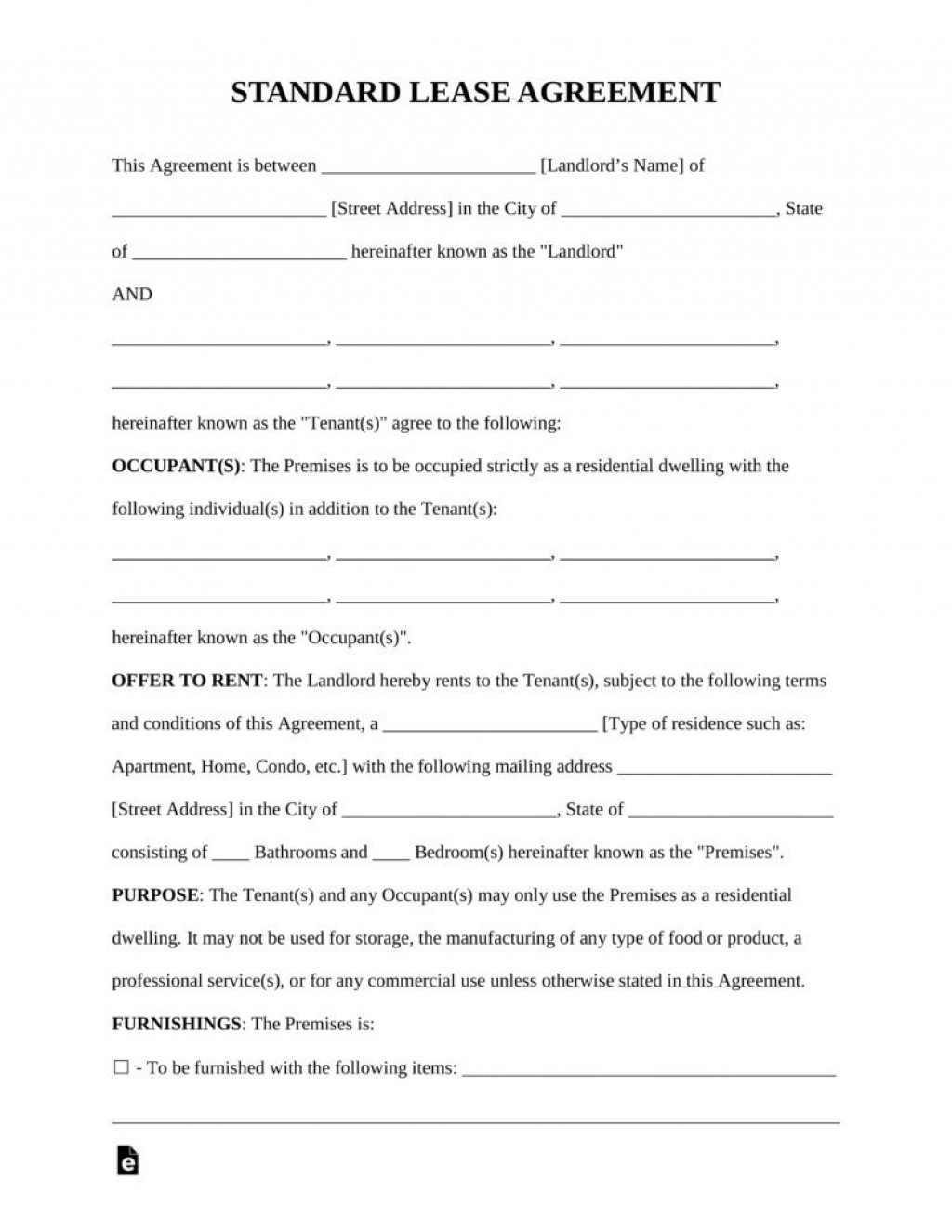 009 Wondrou Rental Agreement Template Free Highest Quality  Lease Format Bangalore Download Word South Africa Room DocLarge