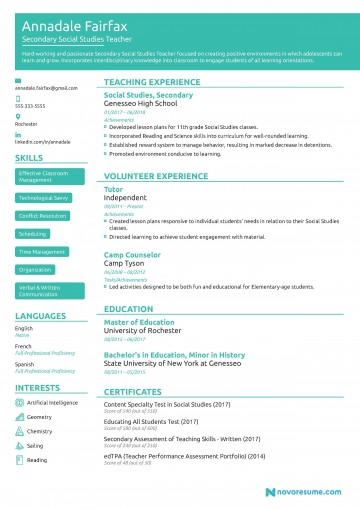 009 Wondrou Resume Template For Teacher Photo  Australia Microsoft Word Sample360