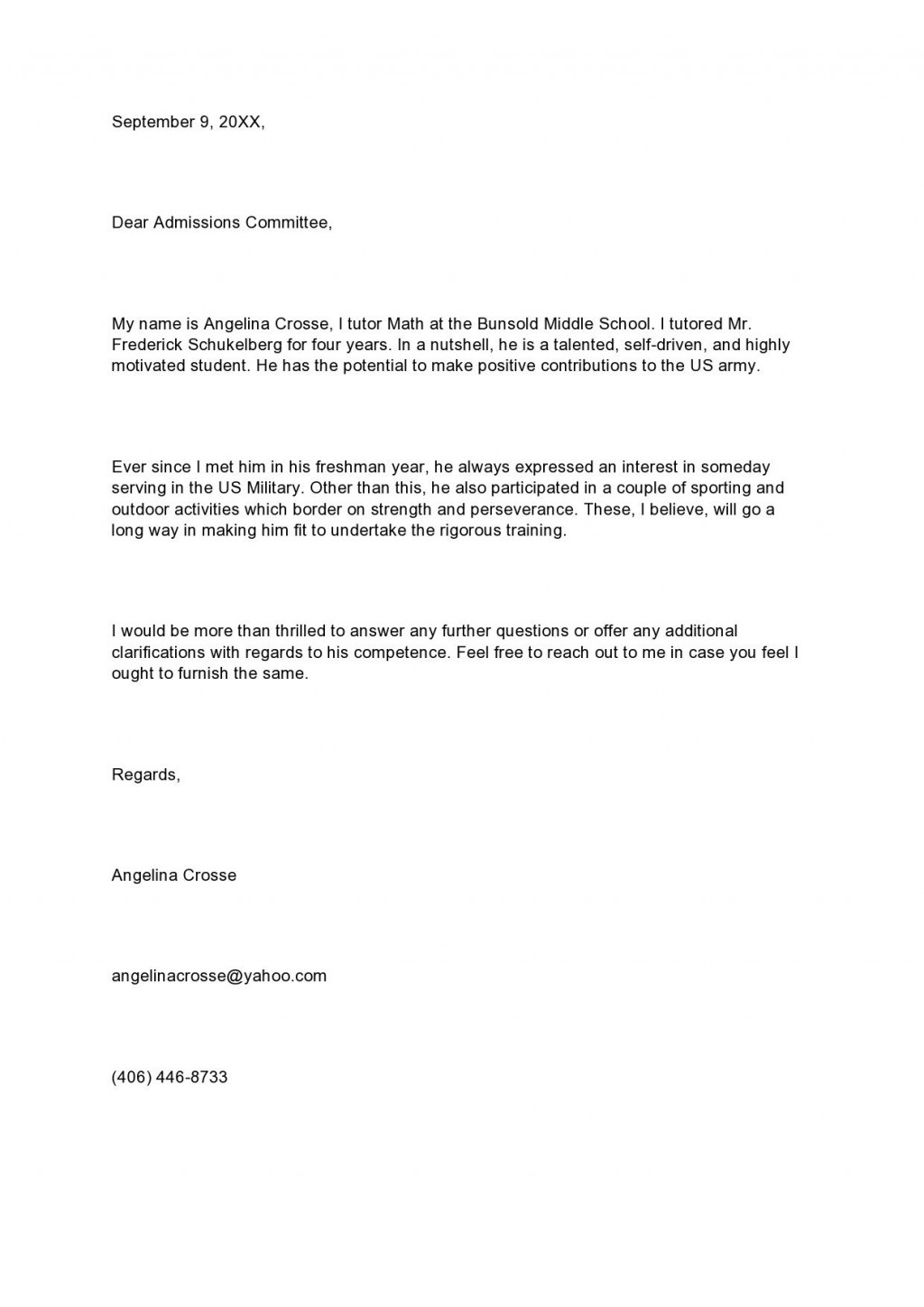 009 Wondrou Sample Request For Letter Of Recommendation Example  From Previou Employer NursingLarge